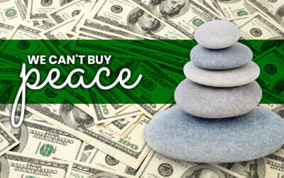 WEEK 19: We Can't Buy Peace