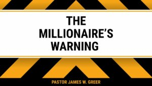 The Millionaire's Warning! Course