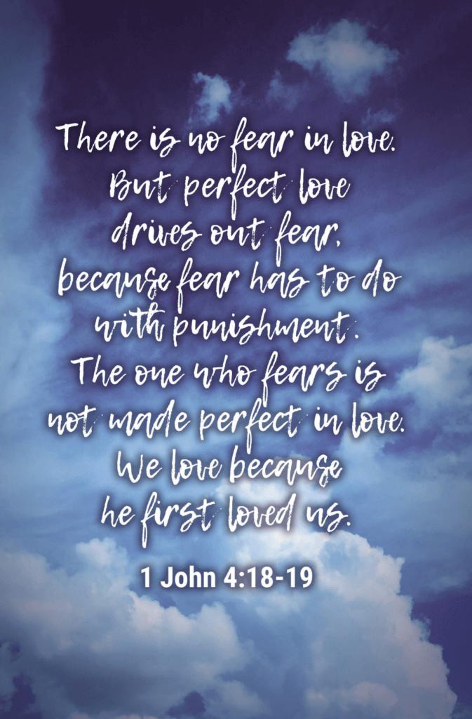 1 John 4 18-19