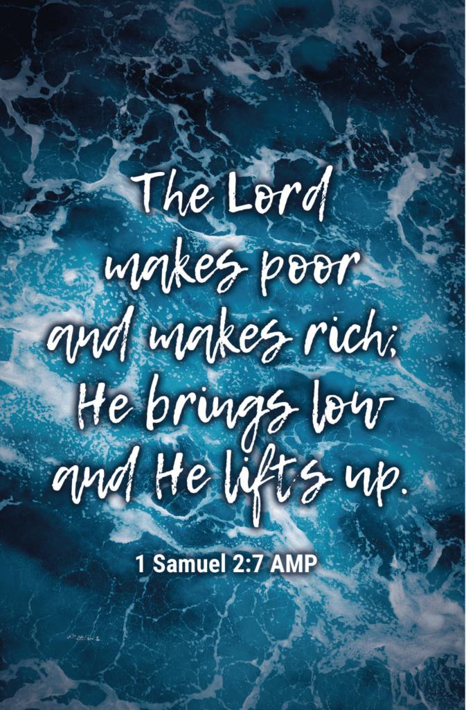 1 Samuel 2:7