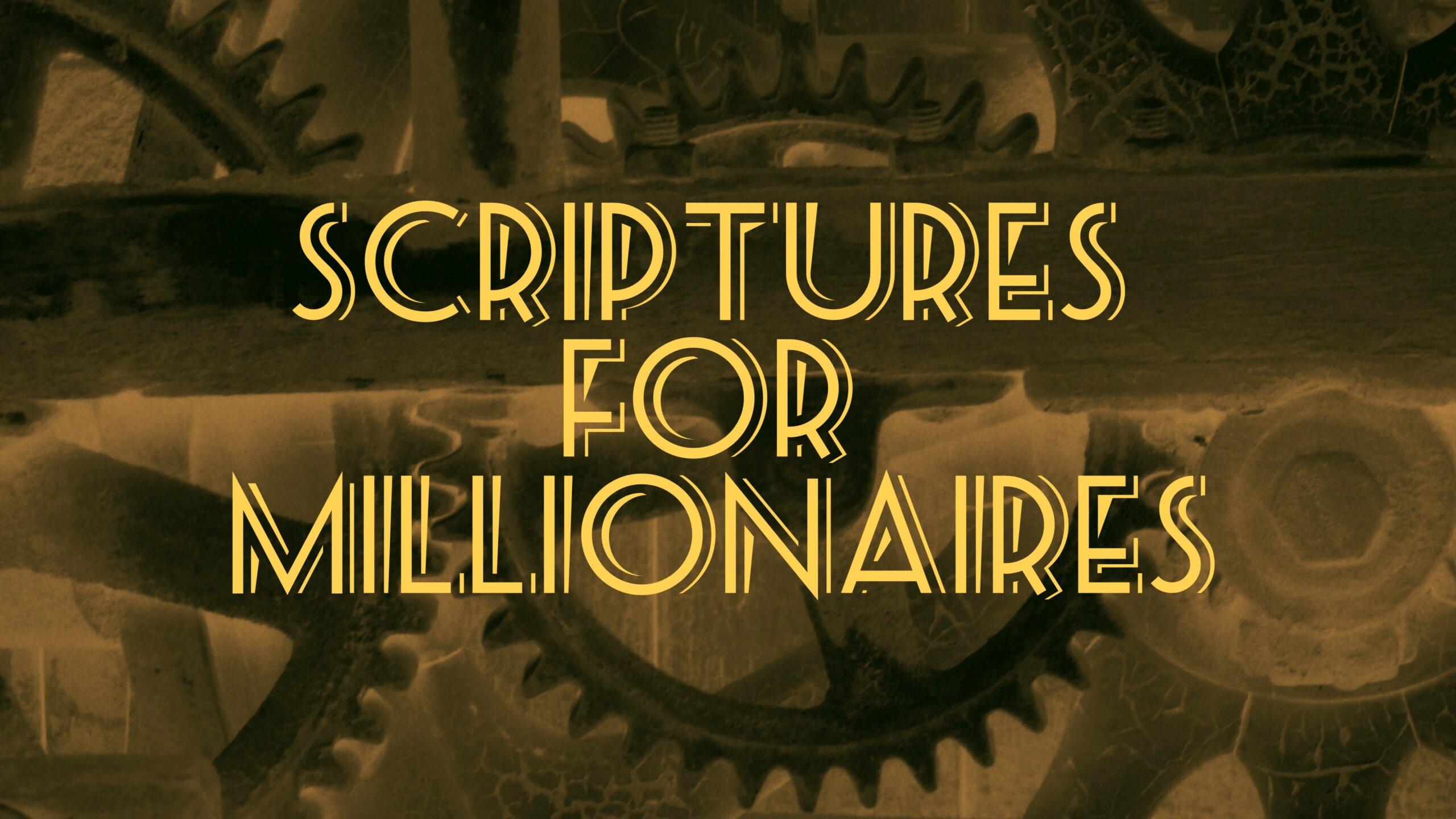 Scriptures for Millionaires