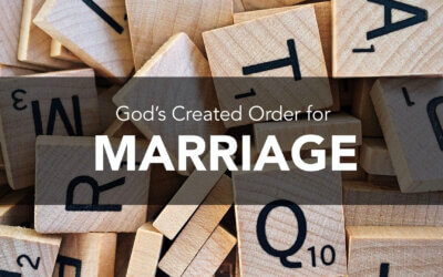 God's Created Order for Marriage