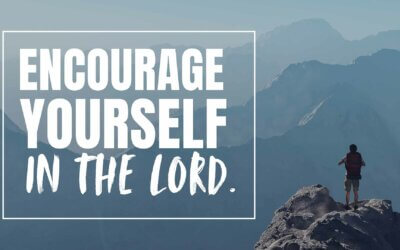 Encourage Yourself in the Lord.
