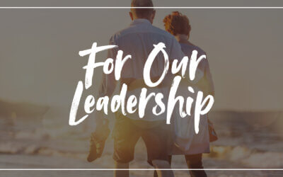 For Our Leadership