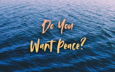 Do You Want Peace