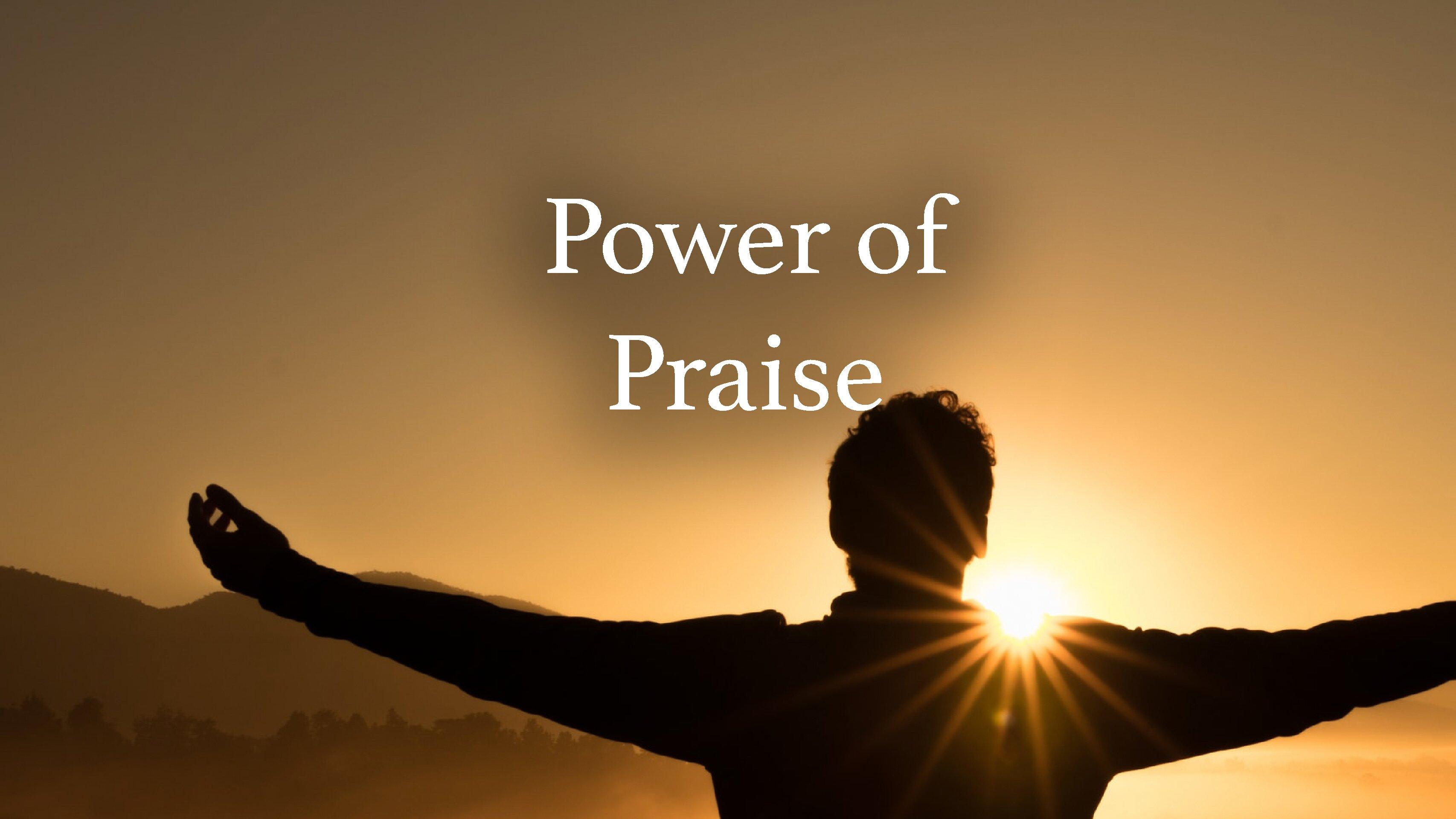 Power of Praise