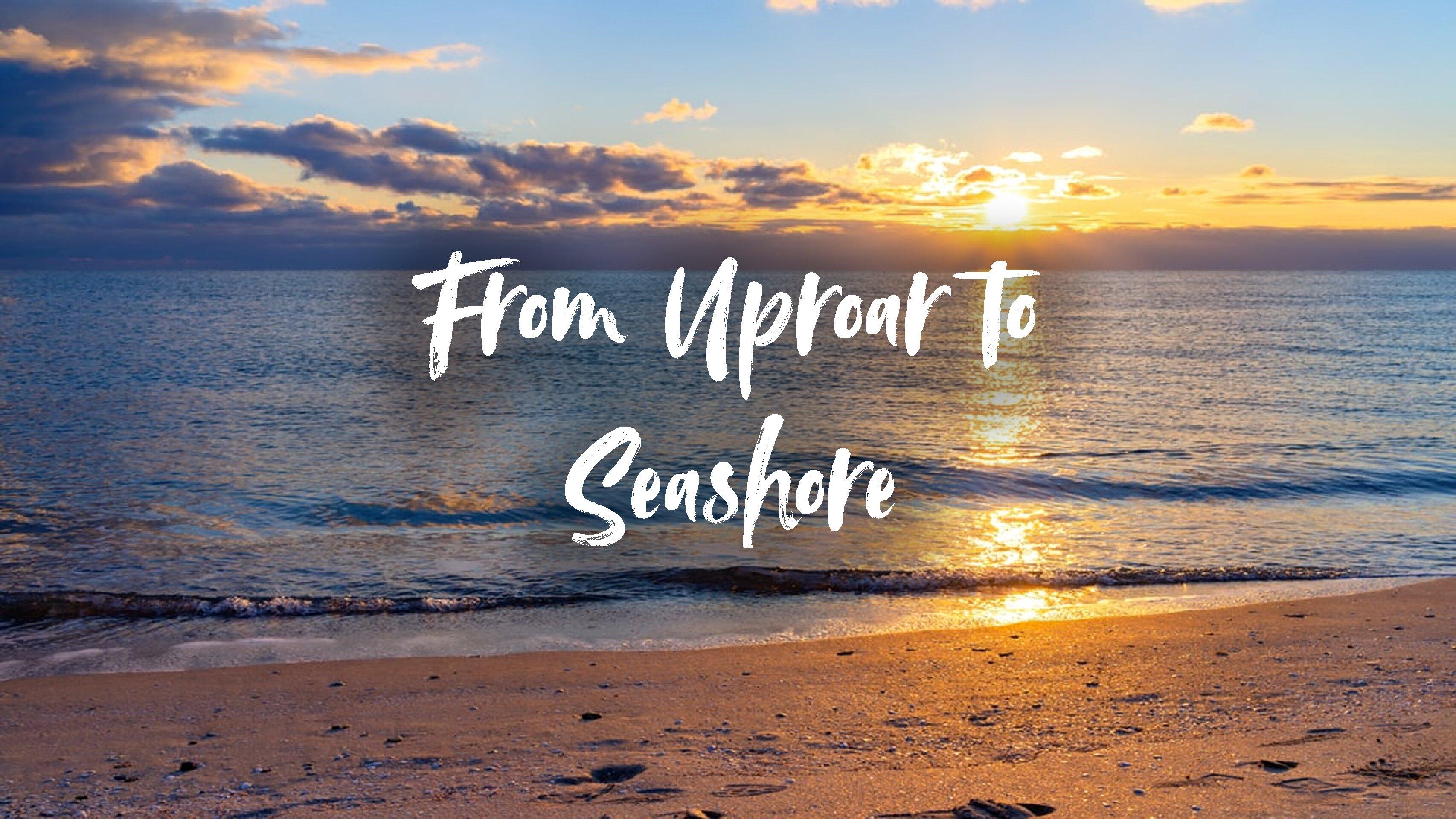 From Uproar to Seashore